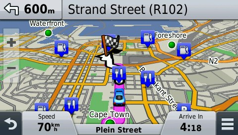 South Africa GPS Map