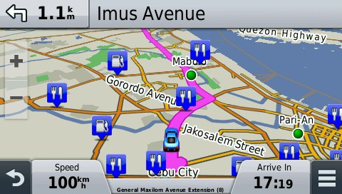 Gps Philippines Map Philippines GPS Map for Garmin | GPSTravelMaps.com