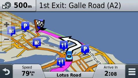 Sri Lanka GPS Map for Garmin | GPSTravelMaps com