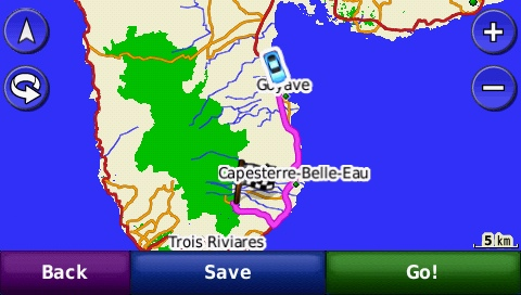 Guadeloupe GPS Map
