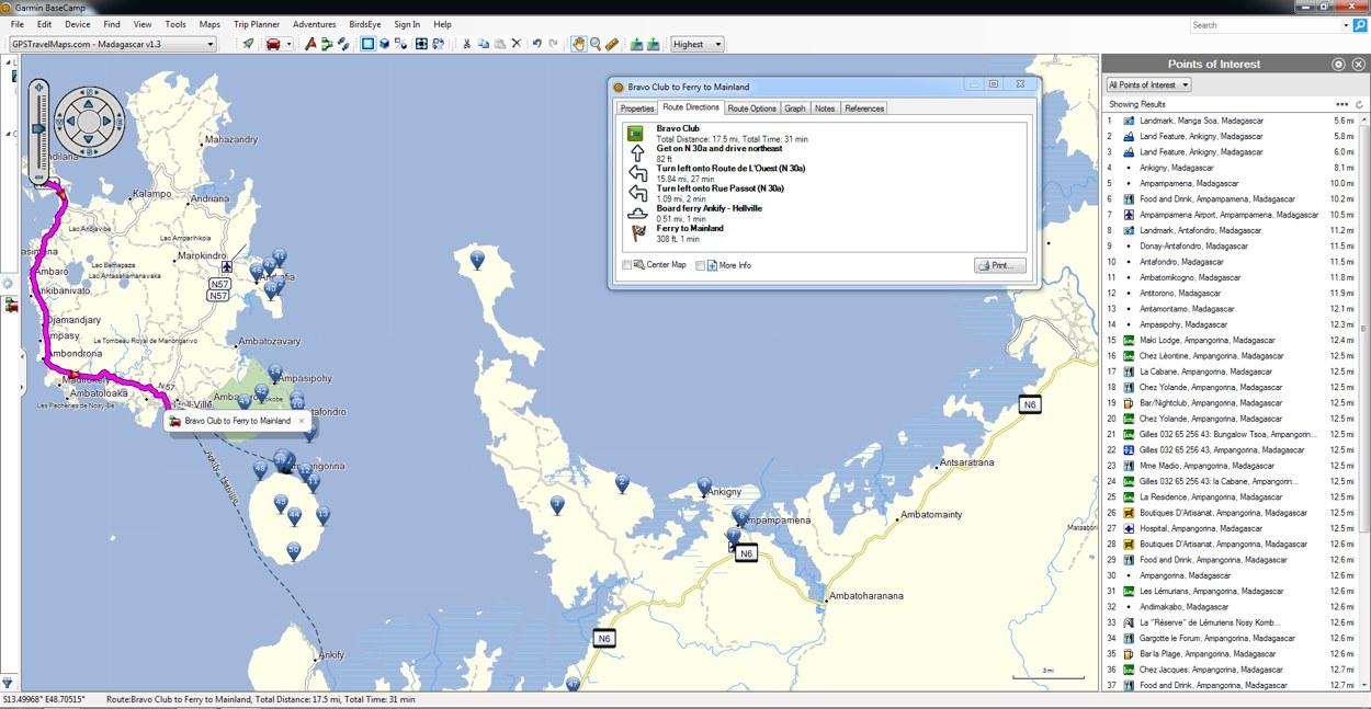 Carte Tomtom Madagascar.Madagascar Gps Map For Garmin Gpstravelmaps Com