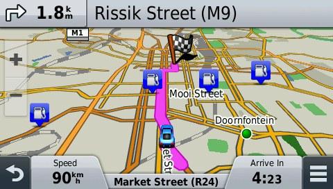 South Africa GPS Map for Garmin | GPSTravelMaps com