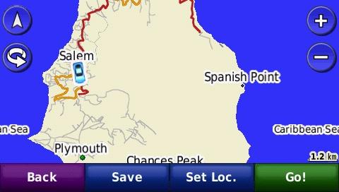 Montserrat GPS Map for Garmin | GPSTravelMaps com