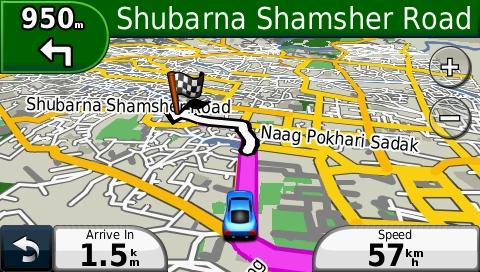 Nepal GPS Map for Garmin | GPSTravelMaps com