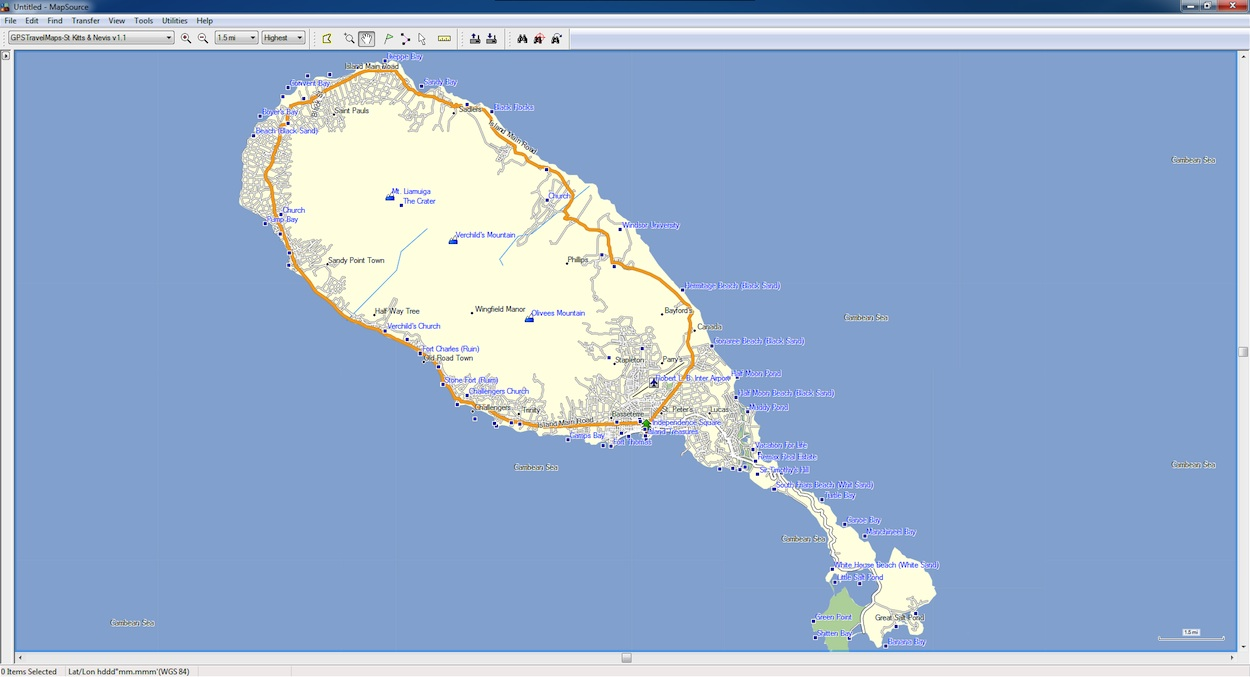 St Kitts & Nevis GPS Map for Garmin | GPSTravelMaps.com on albania map, lesotho map, yisrael map, south georgia and the south sandwich islands map, montenegro map, singapore map, virgin islands map, serbia map, nevis island map, monaco map, tokelau map, senegal map, caribbean map, redonda map, ukraine map, slovenia map, timor-leste map, anglosphere map, nevis on world map, svalbard and jan mayen map,