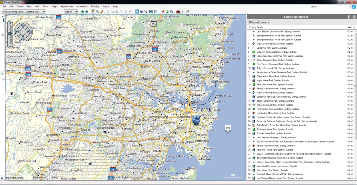 Garmin Australia Map.Australia Gps Map For Garmin Gpstravelmaps Com