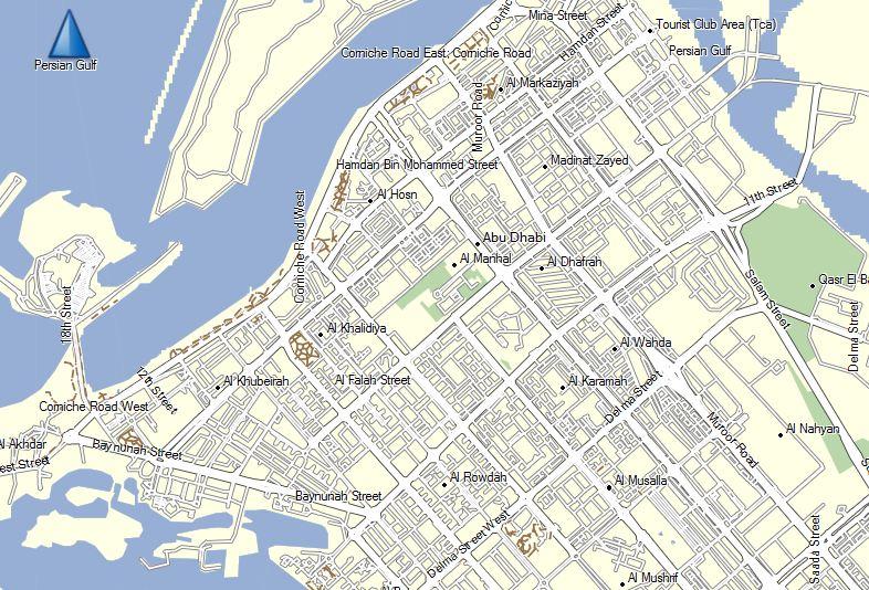 United Arab Emirates GPS Map for Garmin | GPSTravelMaps.com