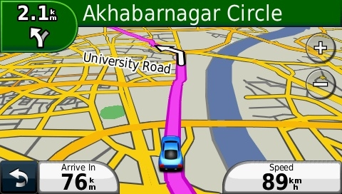 GPS Map of India