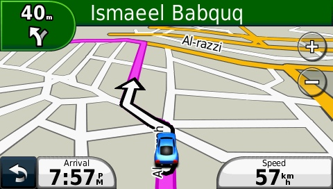 Iraq GPS Map