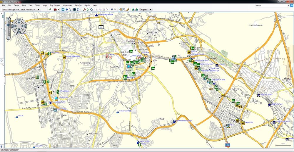 mecca-garmin-map-saudi-arabia - GPSTravelMaps.com